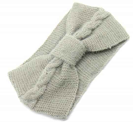 Soft knitted HB knot grey
