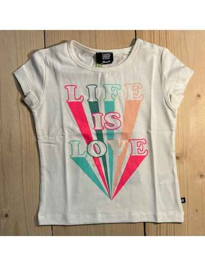 """T 'shirt """"Life is love"""""""