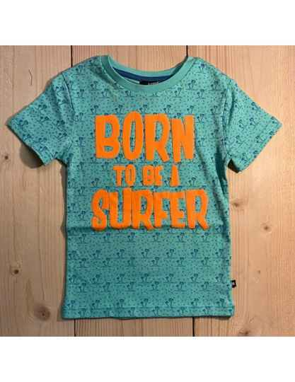 T 'shirt 'Born to be a surfer'