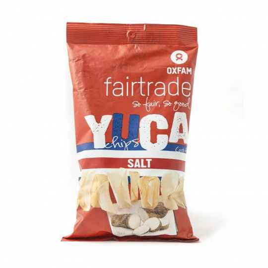 Yucachips zout 150 g