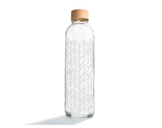 "Drinkfles glas ""Carry structure of life"" 700ml"