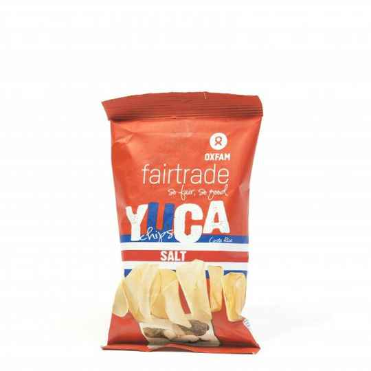 Yucachips zout 50 g