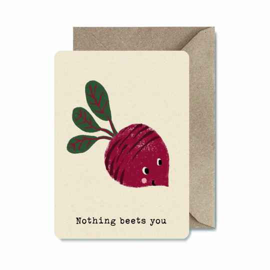 ILL   Ansichtkaart   Nothing Beets You