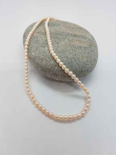 Zoetwaterparel ketting