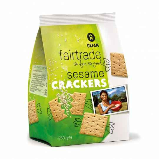 17051 Crackers met sesam 250g