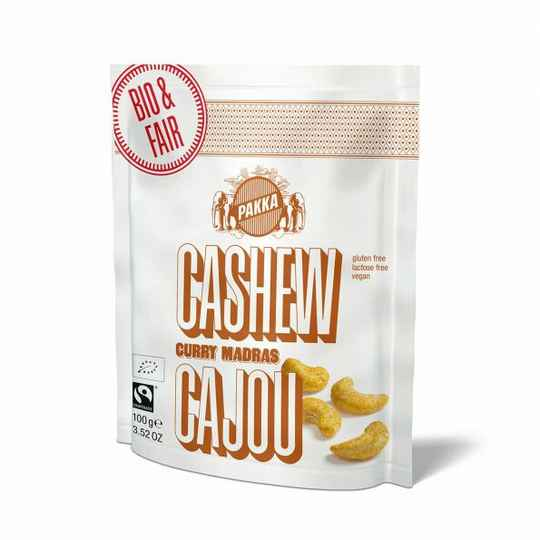 15727 BIO Cashewnoten curry 100g