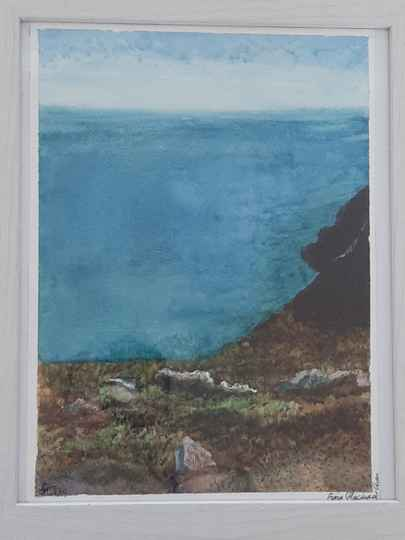 'Hill at Howth Head' by Fiona Chan