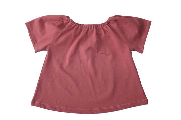 Top - Roest roze -