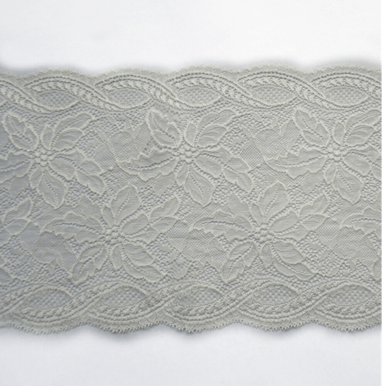 Knitted white lace