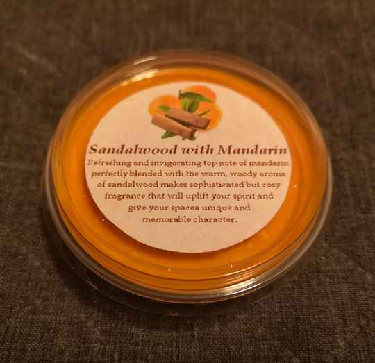 Sandalwood with Mandarin WAX MELT