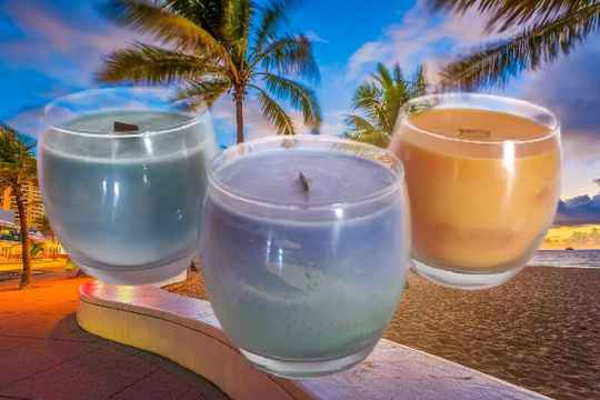 """Vacations"" Candles"