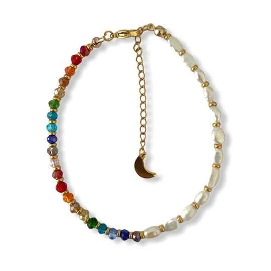 Bohochic Pearls Anklet