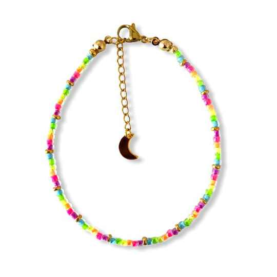 Neon Party Anklet
