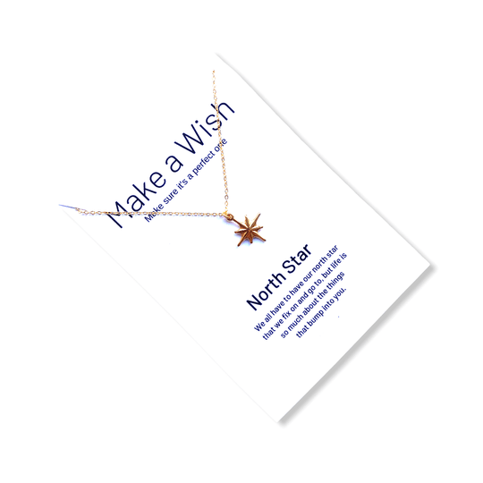 North Star Make a Wish Necklace