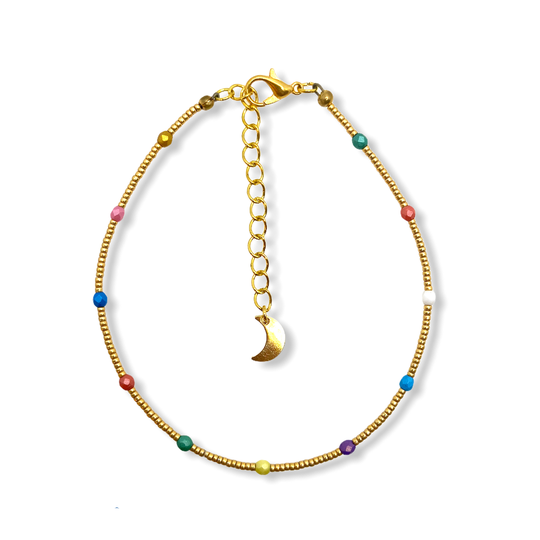 Confetti Anklet