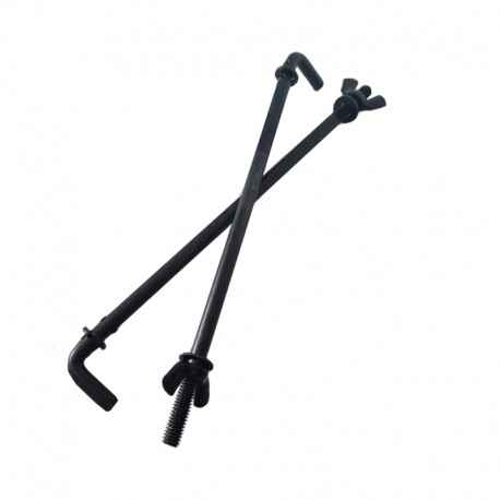 Battery Hold Down Rod Set