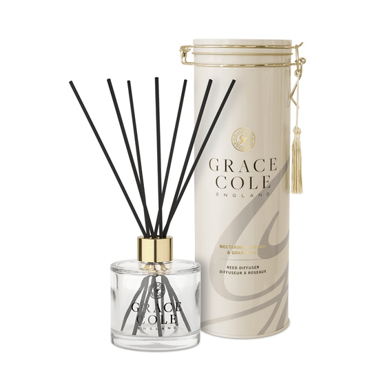 GRACE COLE - REED DIFFUSER 200ml - Nect.Blossom&Grapefruit