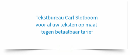 Tekstbureau Carl Slotboom