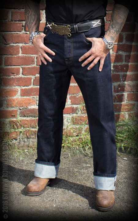 Greasers Gold Jeans /36 Rumble59