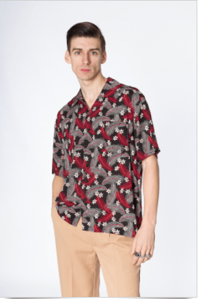 Floral blouse Banned