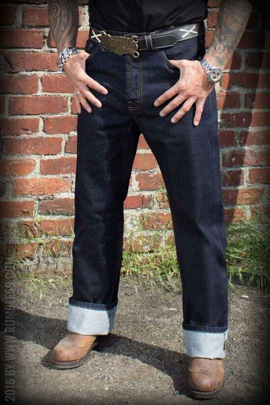 Greasers gold jeans /34 Rumble59