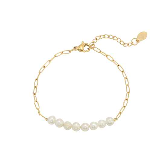 Armband Pearls Of The Sea - goud