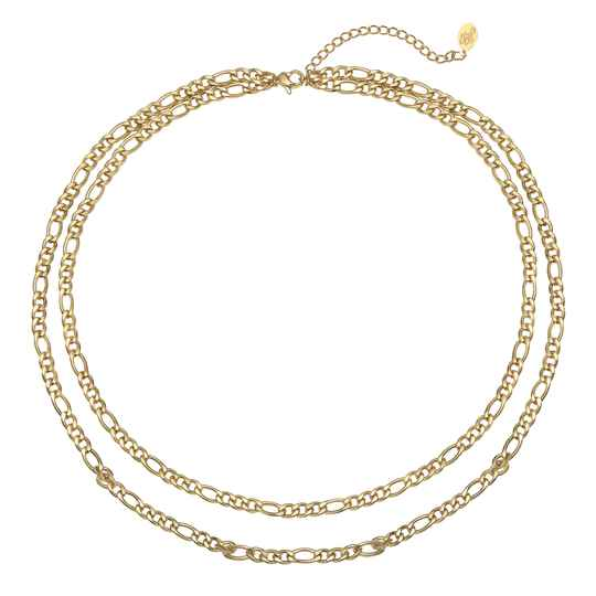 Ketting Who that girl - goud
