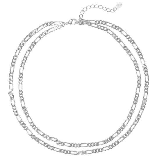 Ketting Doubble chain  - zilver