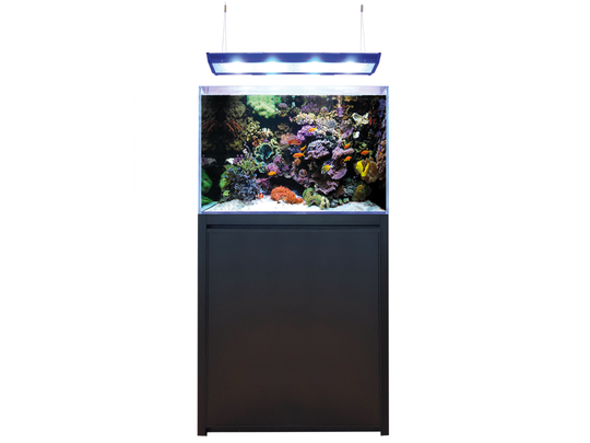 Blue Marine Reef 200 Zwart Aquarium + Meubel
