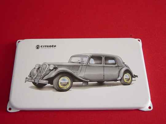 Emaille bord Citroën
