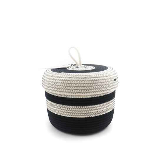 KOBA lidded basket