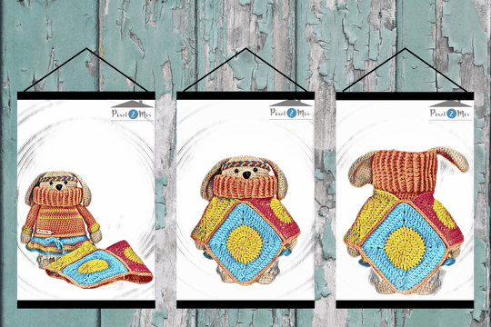 Daisy * The Little Dog * Poster A3/A4 * 3-Part