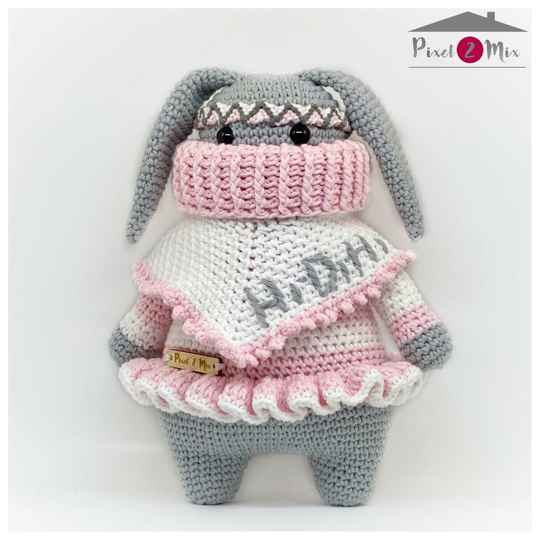 Renate * The Bunny * Crocheted Stuffed Toy