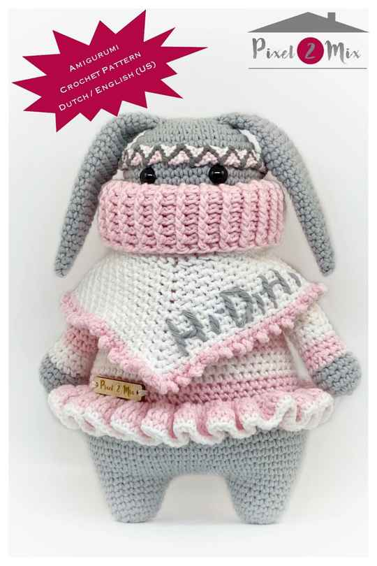 Renate * The Bunny * A5 Booklet Crochet Pattern