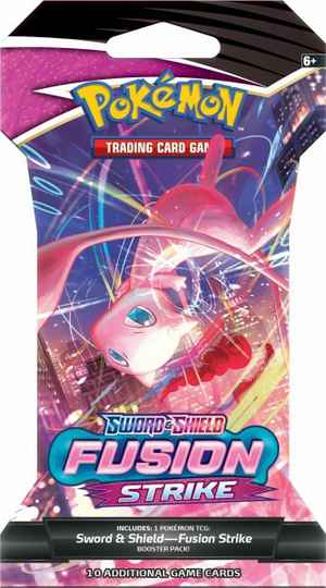 Fusion Strike Sleeved Booster Pack