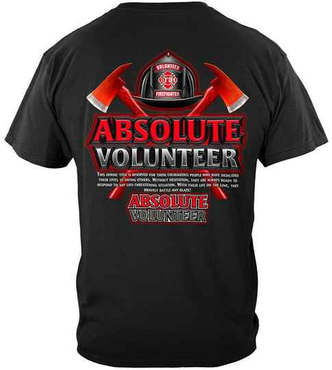 Absolute Volunteer Firefighter Red