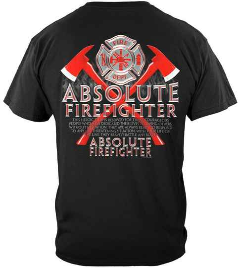 Absolute Firefighter Red