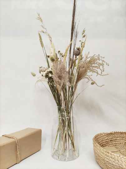 boeket naturel-beige-wit