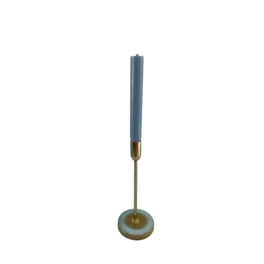 CANDLE HOLDER GOLD YELLOW  M