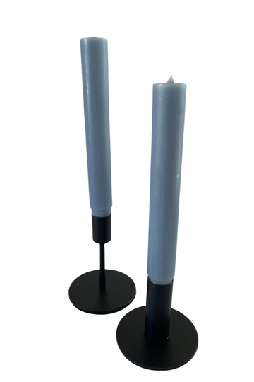 CANDLE HOLDERS BLACK