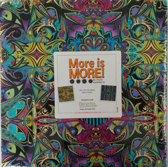 More is More - 10x10 inch