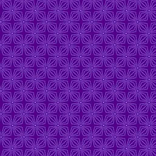 Color Theory - Geo Bloom - Purple