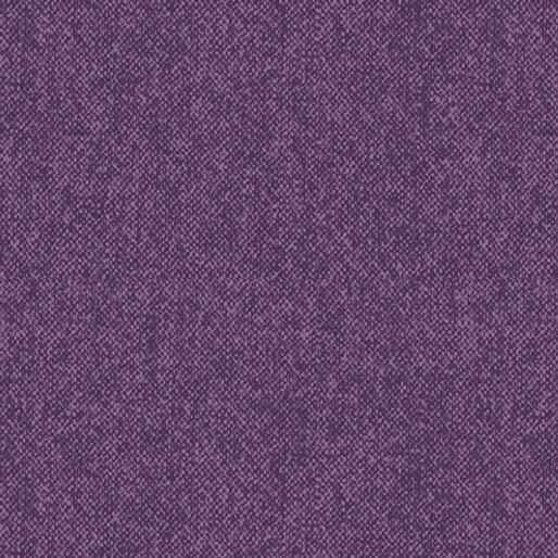 Winter Wool - Wool Tweed - Plum