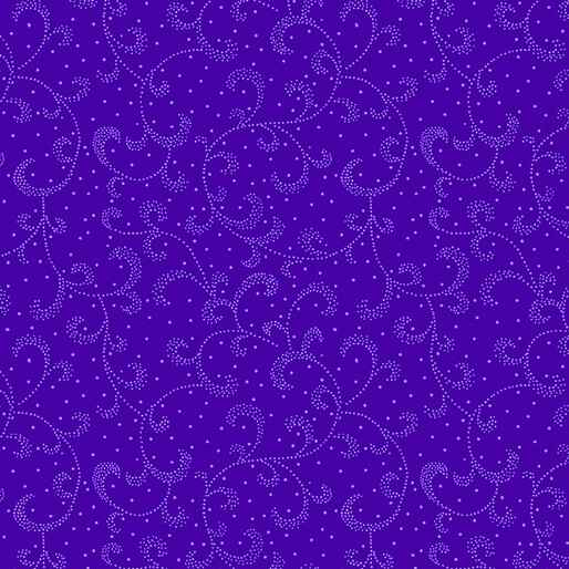 Color Theory - Swirling Scroll - Dark Purple