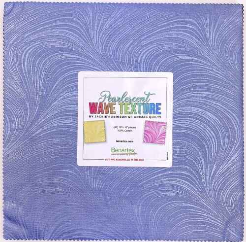 Pearlescent Wave Texture - 10x10 inch