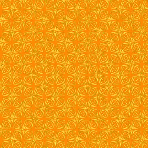 Color Theory - Geo Bloom - Orange