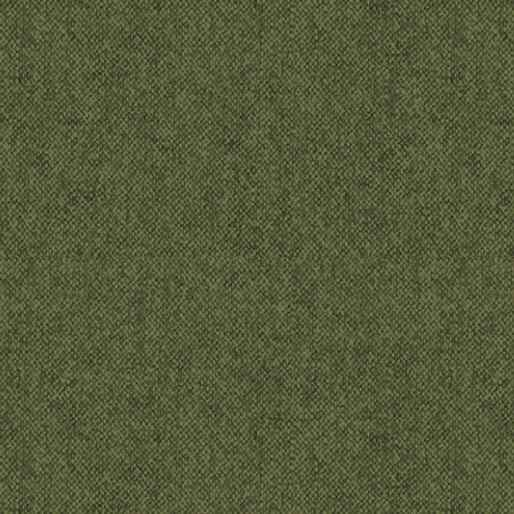 Winter Wool - Wool Tweed - Green