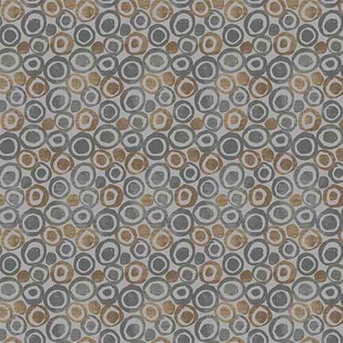 Tessellations Twice - Dots In Circles Grey- 9956-95