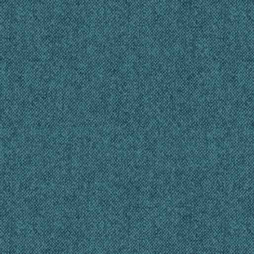 Winter Wool - Wool Tweed - Teal