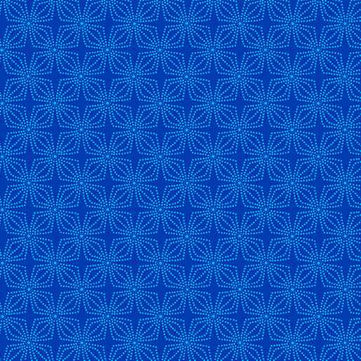 Color Theory - Geo Bloom - Cobalt